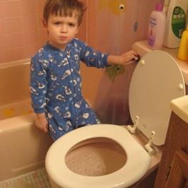 Przygotujmy dziecku bezpieczną toaletę